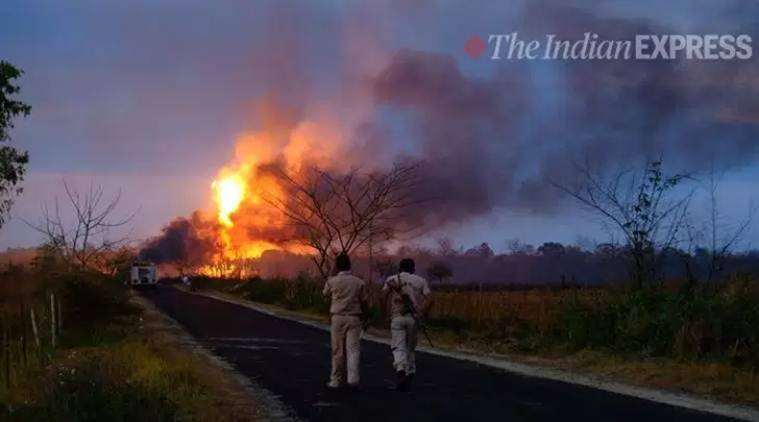 assam gas leak, assam blowout, Baghjan gas well, assam gas leak news,Baghjan tragedy assam Tinsukia, Oil India Limited (OIL), assam news, latest news