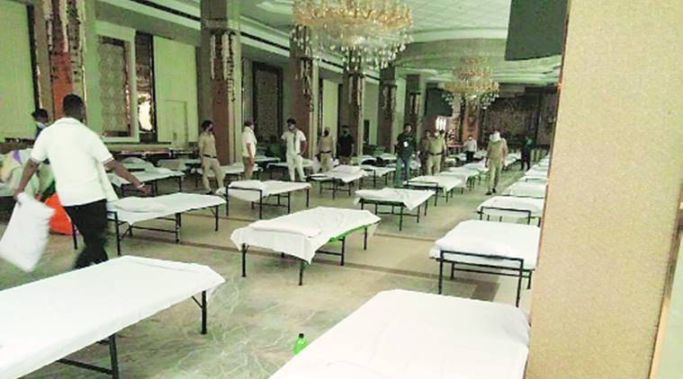 Staff crunch, AC trouble: Hotels for Covid patients flag issues ...