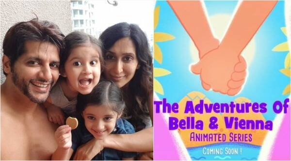 Karanvir Bohra, daughters animated series