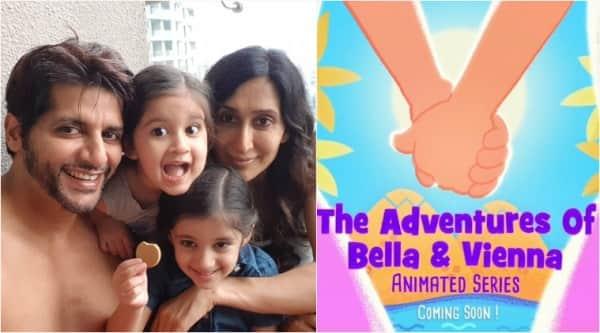 Karanvir Bohra, daughters animated series
