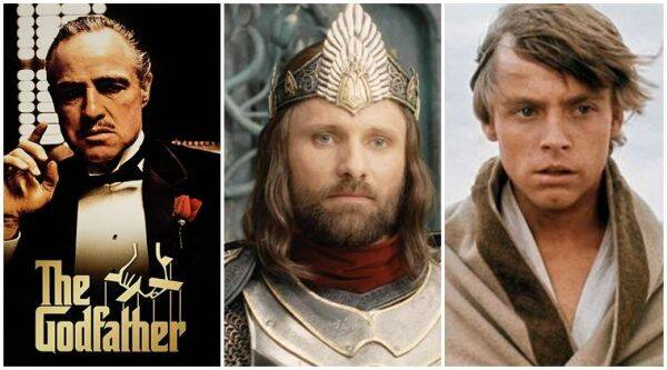 best movie trilogies, lord of the rings, godfather, star wars