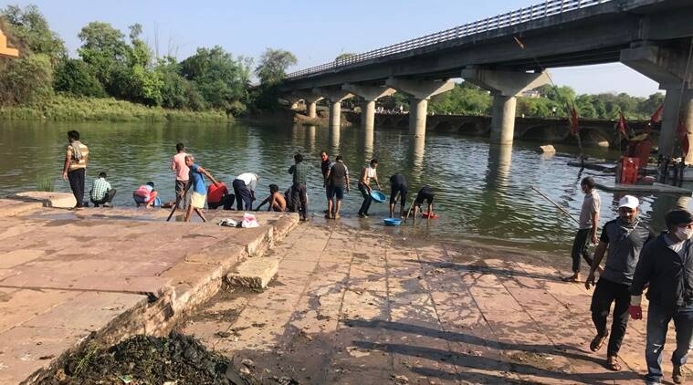 world environment day, madhya pradesh environment day, vidisha river, betwa river, river cleaning drive