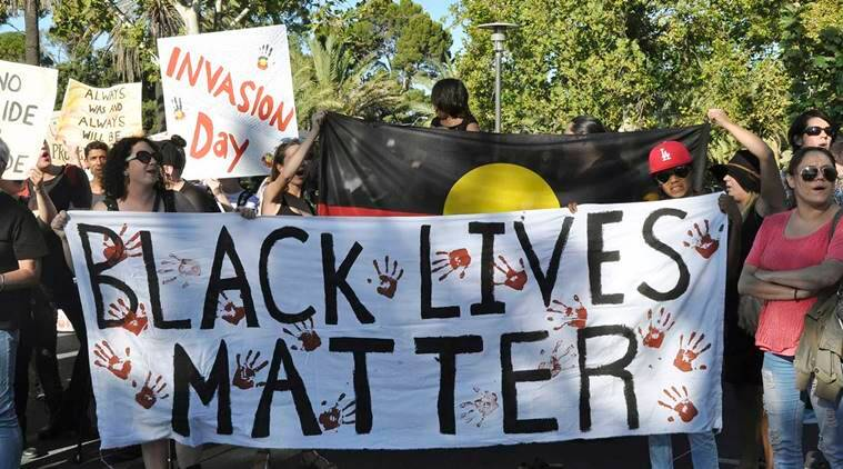 Australian police disperse rally related to Black Lives