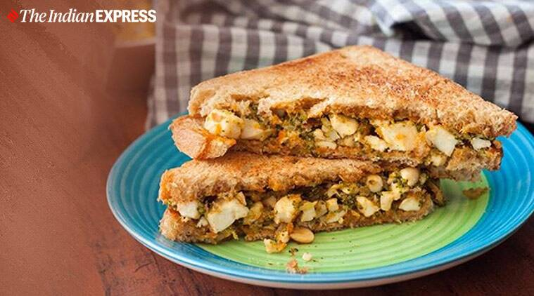 easy sandwich recipes, indianexpress, snacks,