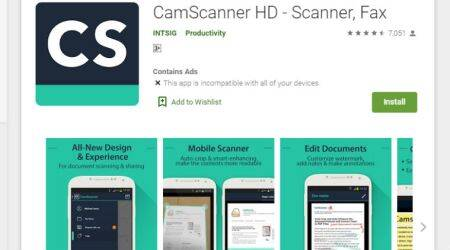 camscanner, camscanner banned, chinese apps banned, camscanner alternatives, camscanner like apps