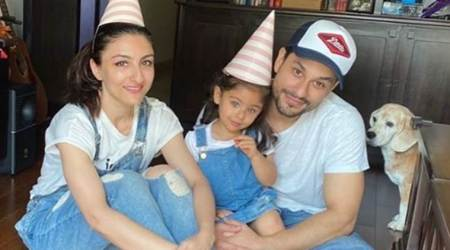 Happy Father's Day, celebrity fathers, fathers and children in lockdown, celebrity posts on Instagram, parenting, indian express, indian express news