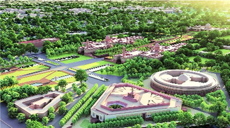 Central Vista revamp, focus on trees, restore Lutyens era look, Delhi news, Indian express news