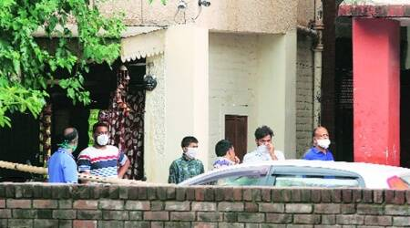Students from Bapu Dham Colony claim they were stopped from entering Police Lines-26