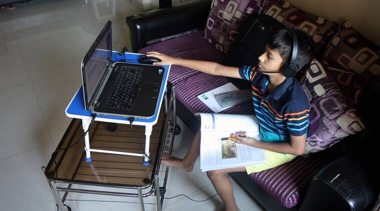 education, covid and online learning, online education, digital education, HRD ministry of digital education, indian express