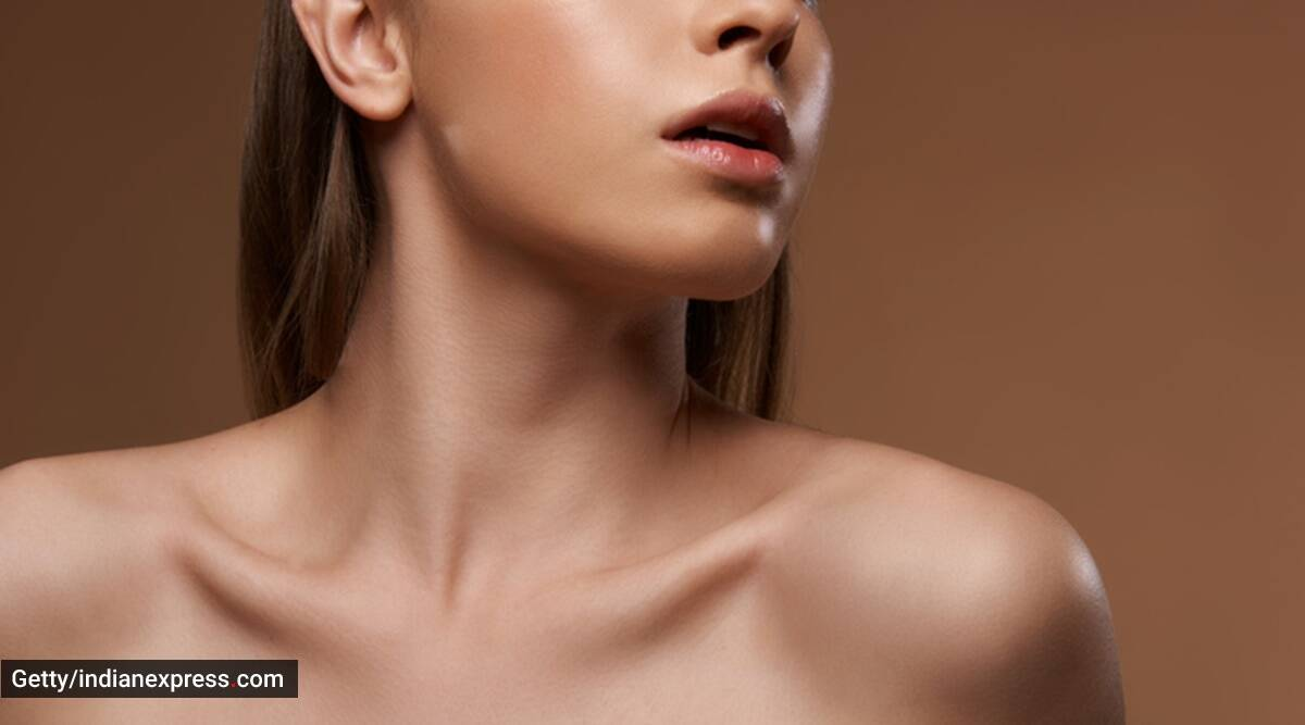 3 Simple Exercises To Lose Neck Fat And Get Defined Collarbone Lifestyle News The Indian Express