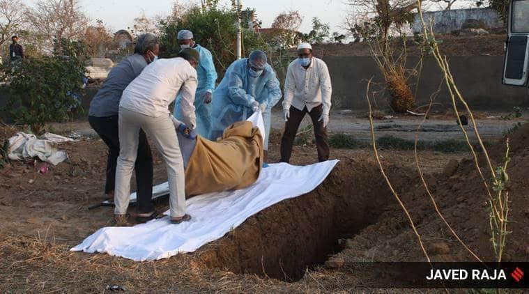 coronavirus death, coronavirus burial, ito graveyard, corona dead delhi, covid 19 death delhi, coronavirus delhi cases, delhi news, indian express