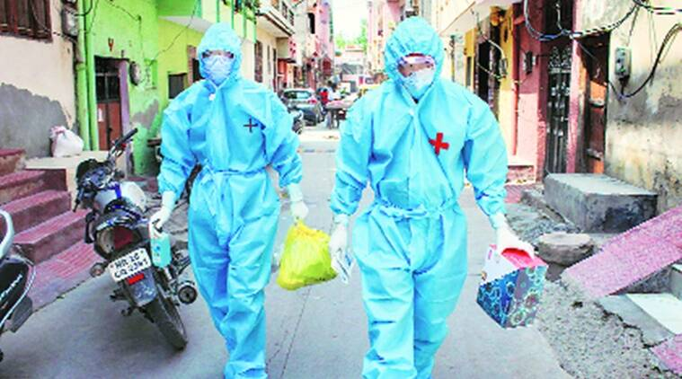 coronavirus, coronavirus in haryana, coronavirus cases in gurgaon,  Dushyant Chautala, covid 19 cases in haryana, coronavirus toll in haryana, indian express news