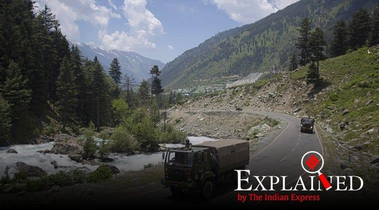 India China border dispute, Galwan valley, Ladakh border, India China news, Ladakh, PM Modi in Ladakh, Modi in Leh, Modi on China, Indian Express