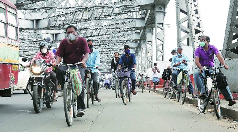Cycling's popularity soars as Bengal tries to hit the brakes on pandemic