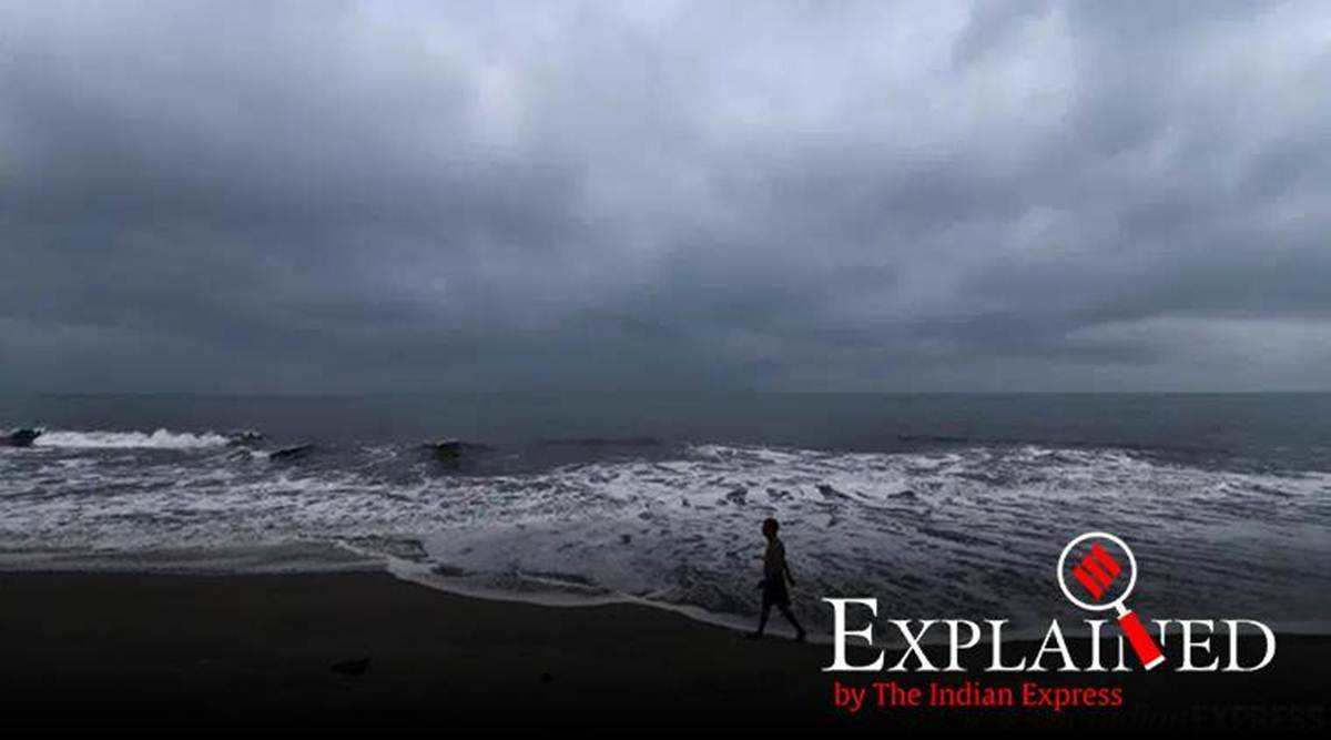 Cyclone Nisarga Explained How Big Is The Threat On West Coast Explained News The Indian Express
