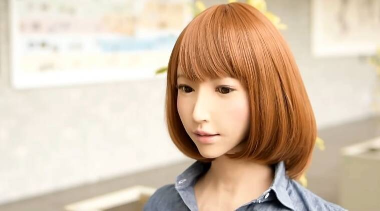 erica robot acting debut