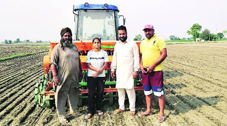 Amid labour shortage, over 8 fold rise in direct sowing of rice in Punjab