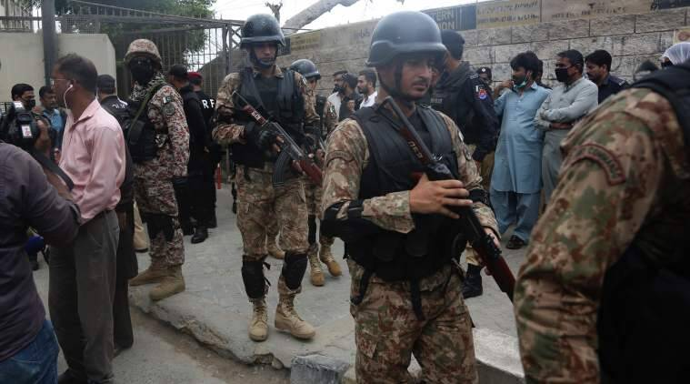pakistan news, pakistan latest news, pakistan stock exchange, pakistan stock exchange attack, pakistan stock exchange attack today, terrorist attack in pakistan, terrorist attack in pakistan today, terrorist attack in pakistan latest news, Terror Attack in Karachi, Terror Attack in Karachi news