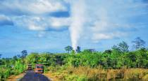 Poor weather condition hampering work to control gas flow from OIL well blowout in Assam