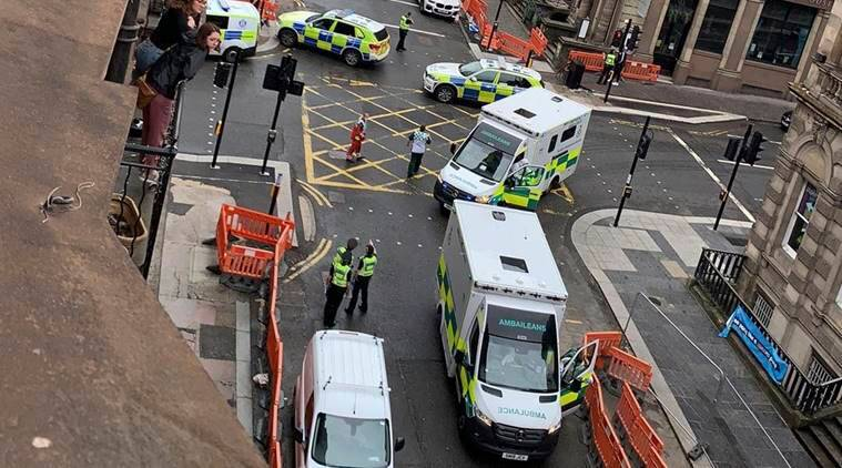 Knifeman stabs six in Glasgow before being shot by police | World ...