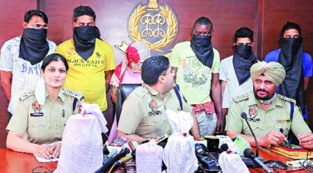 mohali, smuggling, heroin, arrest