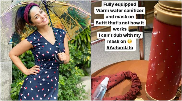 hina khan, resumes work post lockdown