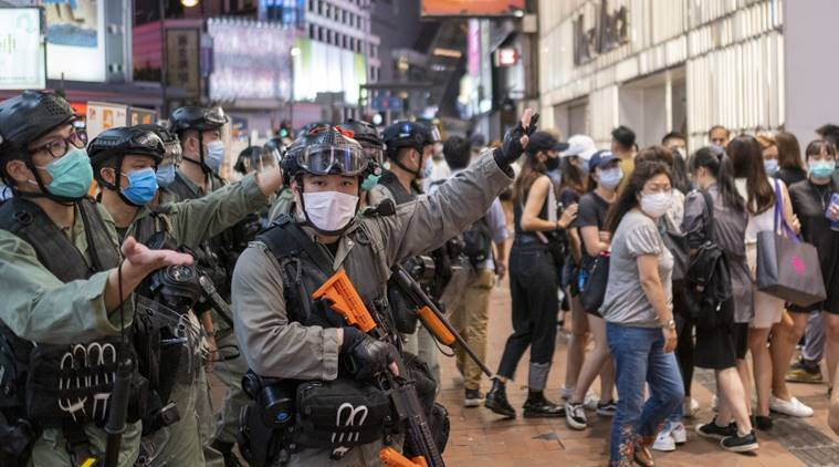 Hong Kong police make first capture under new security law