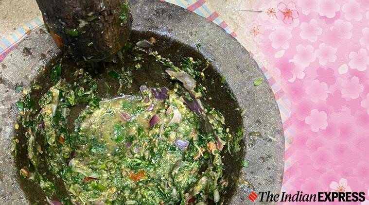 immunity boosting chutney, immunity booster, indianexpress.com, indianexpress, mortar and pestle, diabetes, lavleen Kaue recipes,