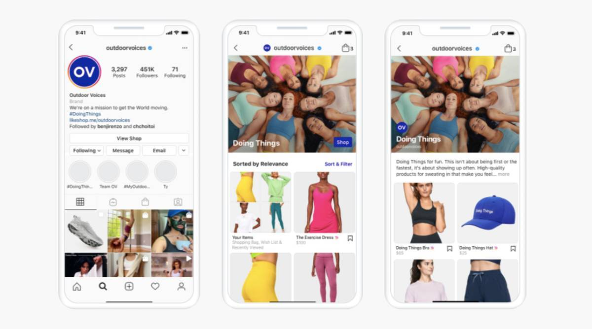 Instagram now allows creators to set up shop on platform: Here's how it will work   Technology News,The Indian Express