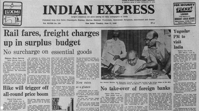 Forty Years Ago, June 17, 1980: Rail budget
