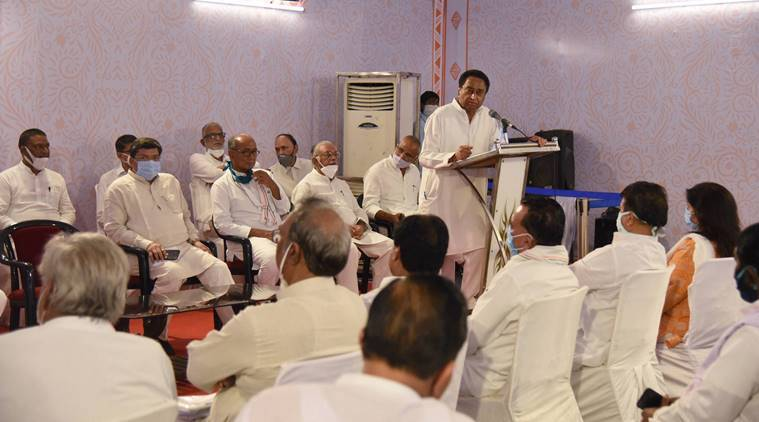 Five MLAs who backed Kamal Nath govt attend BJP dinner meet