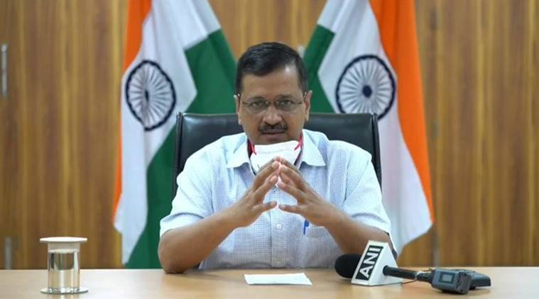 Arvind Kejriwal, LG Anil Baijal, coronavirus cases, bed numbers, doubling rate, Delhi news, Indian express new