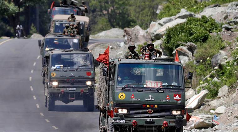 india china, ladakh border, india china tension, line of actual control india china