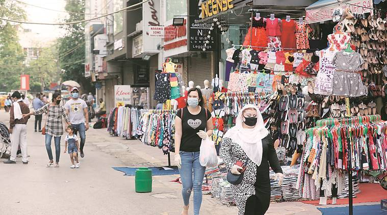 Virus fears, depleted workforce: Markets open in Delhi, challenges remain |  Cities News,The Indian Express