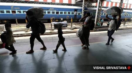uttar pradesh migrants, uttar pradesh migrants covid positive, UP migrant workers coronavirus, UP government, UP testing, India news, Indian express