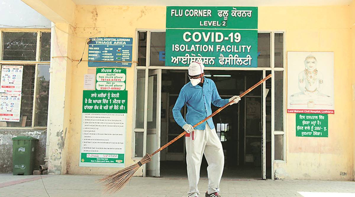 Ministry of Health and Family Welfare, Punjab Covid-19, Ludhiana Covid-19 cases, Jalandhar Covid-19 cases, Amritsar Covid-19 cases, Bathinda Covid-19 cases, Ferozepur Covid-19 cases, Tarn Taran Covid-19 cases, Patiala Covid-19 cases, indian express