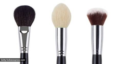 how to clean makeup brush, indianexpress, tips to clean makeup brushes,