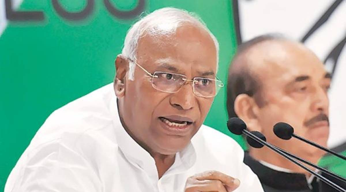 Mallikarjun Kharge, Congress LOP, leader of Opposition, Rajya sabha, Ghulam Nabi Azad, India news, Indian express