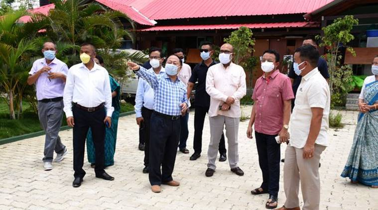 Manipur coronavirus updates, Manipur lockdown, Manipur Covid 19 cases, covid 19, Manipur news, N biren singh, Manipur covid quarantine facilities, indian express