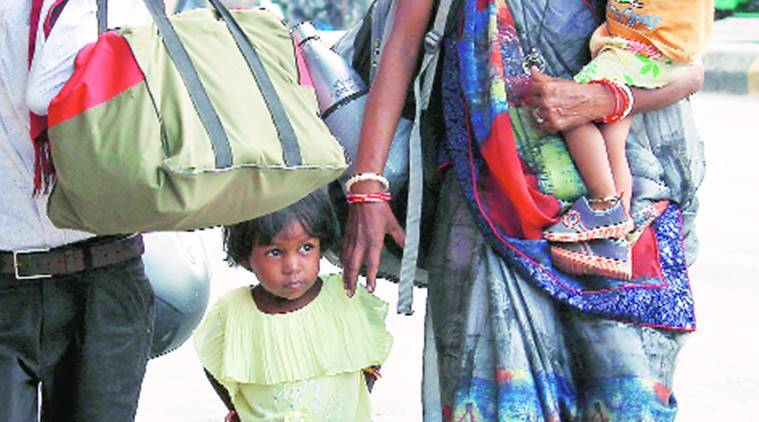 Stranded migrants, social media, Shramik Special train, GUjarat news, Indian express news
