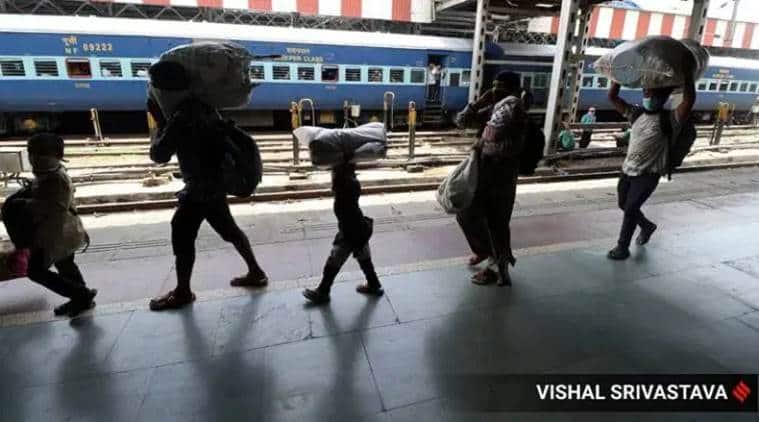 migrants, migrants return home, uttar pradesh migrants, Bihar migrants, Migrants covid positive,