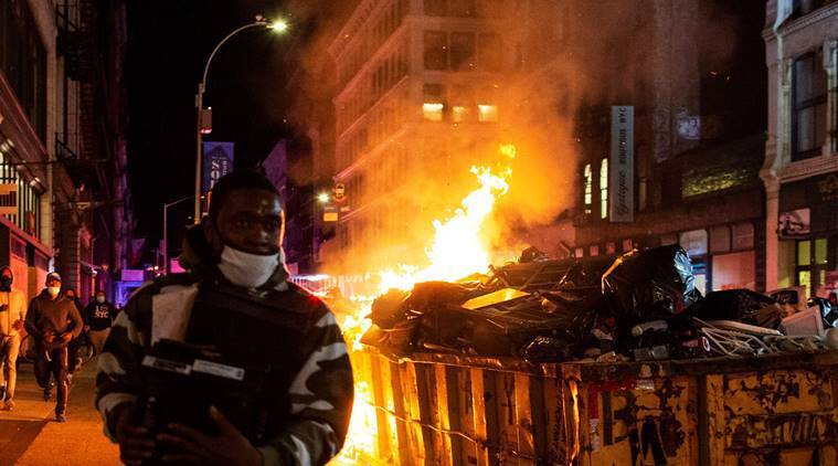 George Floyd death: Over 4,000 arrested as riots ravage US cities, protests spread to Europe