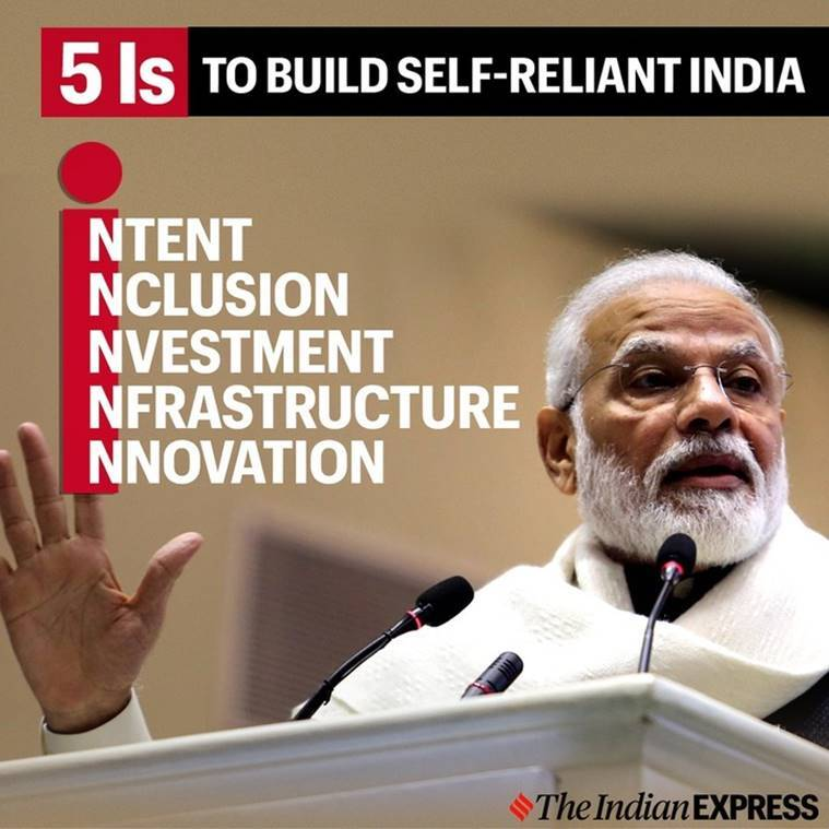 PM Modi stresses on five 'Is' for self-reliant India: Top quotes