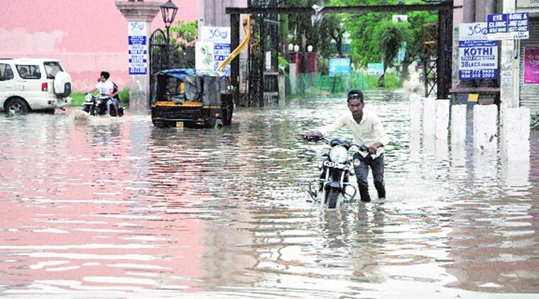 DC visits flood-prone areas, issues notice to firm for blocking waterflow