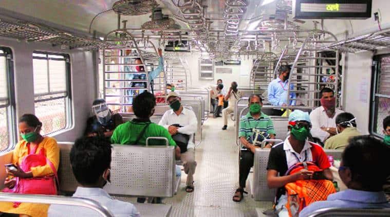 essential service workers, Mumbai local train, Mumbai news, Maharashra news, indian express news