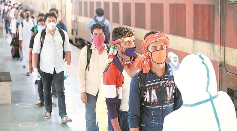 Maharashtra lockdown, Maharashtra coronavirus lockdown, Maharashtra migrants, Maharashtra migrants jobs, indian express