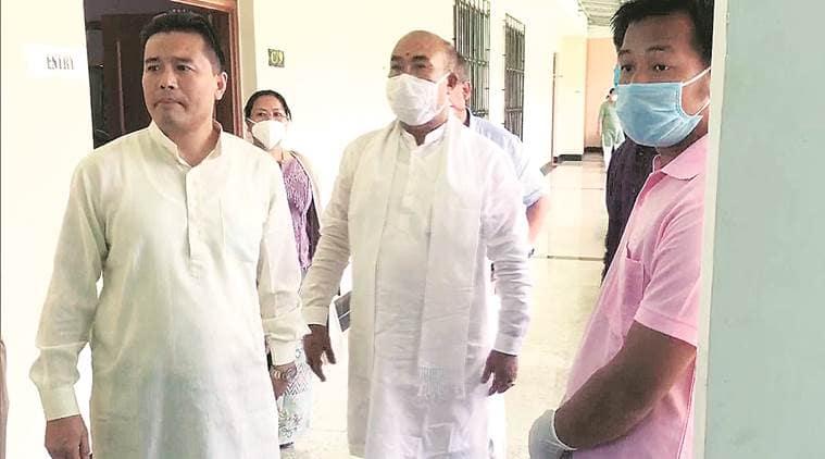Manipur trust vote, N Biren Singh, Manipur Assembly, Manipur drug seizure case, Manipur news, indian express
