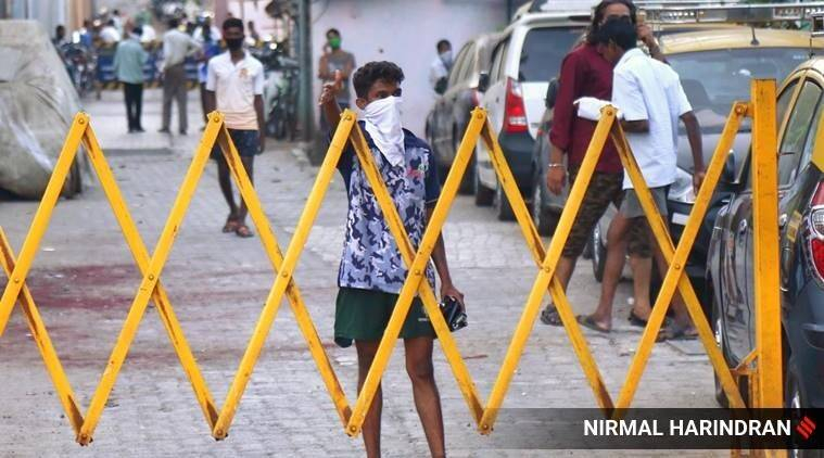 Navi mumbai coronavirus updates, Navi Mumbai Municipal Corporation, navi mumbai covid-19 cases, navi mumbai containment zones, navi mumbai coronavirus hotspot, indian express news