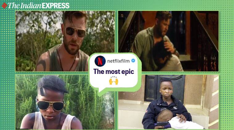 This Brilliant Remake Of Chris Hemsworth S Extraction Trailer Is A Hit On The Internet Trending News The Indian Express