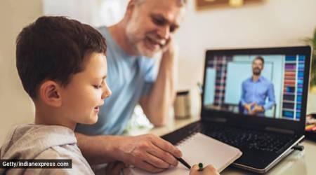 online learning, parenting